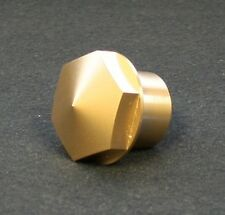 Accutronix BRASS Triple Tree Stem Nut for Harley Davidson Motorcycle