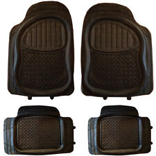 Audi 100 90 A3 A4 A5 A6 A8 Q7 Q5 Rubber PVC Car Mats Extra Heavy Duty 4pcs Set