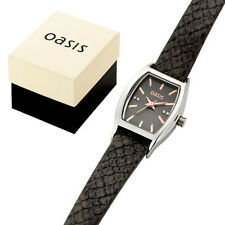 New Black Oasis Caitlyn Watch....great gift look