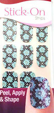 Kiss Nails Stick- On Nail Strips Nail Appliques Limited Edition 60182 Networking