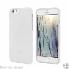 Genuine MERCURY Goospery White Soft Jelly Case Cover Skin For Apple iPhone 6/6s