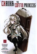 Chaika  The Coffin Princess Volume 1  Ichirou Sakaki   Manga Pbk  NEW