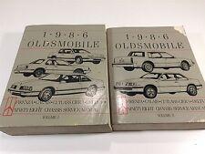 1986 Oldsmobile Chassis Service Manual Cutlass Ciera Firenza Delta - 2 Volumes
