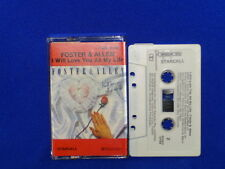 FOSTER & ALLEN I WILL LOVE YOU ALL OF MY LIFE - ULTRA RARE AUSTRALIAN CASSETTE T