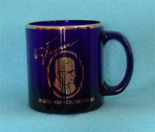 President Harry Truman Library and Museum Collector Mug in Cobalt Blue