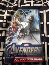 Marvel The Avengers Quinjet 4GB Keychain USB Flash Drive