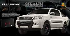 TOYOTA HILUX PERFORMANCE STEALTH 2.0 THROTTLE CONTROLLER TUNE TURBO DIESEL RACE