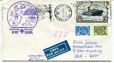URSS CCCP Exploration Mission Base Ship Polar Antarctic Cover / Helicopter