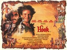 Hook movie poster  : 12 x 16 inches - Peter Pan poster, Robin Williams poster