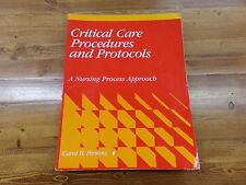 Critical Care Procedures and Protocols A Nursing Process Approach Carol Persons