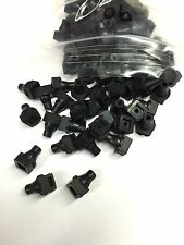 Full Set of 90 Spinet Piano Square Rubber Lifter Wire Grommets