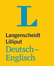 LANGENSCHEIDT Lilliput Wörterbuch Deutsch-Englisch für Alltag und Reise