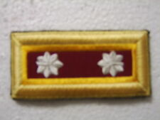 ARMY SHOULDER BOARDS ORDNANCE CORPS LIEUTENANT COLONEL - PAIR (2) FEMALE NIP