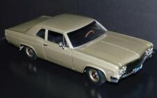 Ertl 1/18 Die Cast Car 1966 Chevy Biscayne Coupe #1693 of 5K Gold
