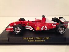 Michael Schumacher FERRARI F2002 NEW 1:43 SCALE IXO BLISTER PACK