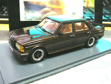 Mercedes Benz w123 clase e 280 AMG tuning 1980 marrón Brown met neo resin 1:43