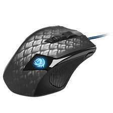 Sharkoon Drakonia Black Gaming Mouse USB Laser Spielen Schwarz  Laser-Gamingmaus
