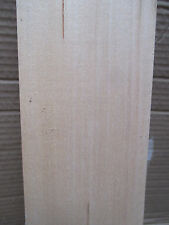 AD Clear White Basswood Linden Tilia Lime Wood Craft Block Carving Turning Blank