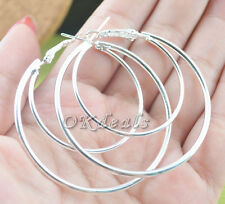 wholesale Fashion Women's 925Sterling Silver Hoop Dangle Earrings Studs Jewelry