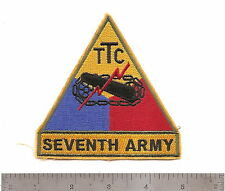 #352 US ARMY  TTC 7TH ARMY PATCH ARMOR TRAINING CENTER