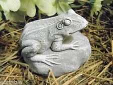 NEW latex only frog plaster concrete mold looking right