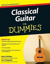 Classical Guitar For DUMMIES Learn to Play Beginner Easy LESSON Music Book & CD