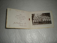 A 1929 Xmas card With A Photo of 2nd Battalion Athletic Team Winners In Lahore