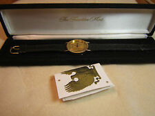 Sterling Silver Franklin Mint Eagle Watch Gilroy Roberts