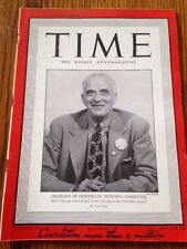 TIME Magazine October 12, 1942, Chairman Of Democratic National Committee