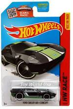 2015 Hot Wheels #178 HW Race Track Aces Ford Shelby GT-1 Concept black