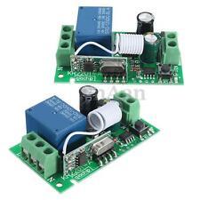 315MHz 220V 10A 1 Canali Relay Relè Wireless RF Telecomando Switch Ricevitore