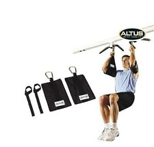 Gym Ab-Crunch Sling AB Straps Weight Lifting Door Hanging Gym Chinning Bar