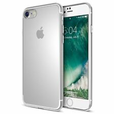 Apple iPhone 7 Plus + Ultra Thin Clear Gel Case Cover Transparent Strong