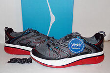 HOKA ONE ONE Rapa Nui 2 Men's Running Shoes Anthracite/Red/White NIB size US 14