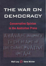 THE WAR ON DEMOCRACY Niall Lucy & Steve Mickler - NEW