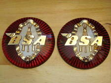 BSA piled arms gas tank badges stacked rifles UK Made emblems badge set 65-8220