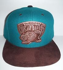 Vancouver Grizzlies Mitchell & Ness Adjustable Strap Back Authentic New Hat