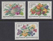 Österreich Austria 1974 ** Mi.1444/46 Gemüse Obst Blumen Flowers Fruits Veggie