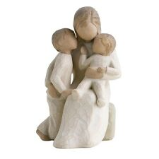 New & Boxed Willow Tree Figurine with Children 'Quietly' #26100 Mothers Day Gift