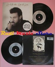 LP 45 7'' LIONEL RICHIE Love oh Love will find a way 1992 france (*)no cd mc dvd
