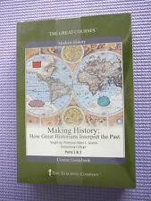 Teaching Co Great Courses DVDs             MAKING  HISTORY       new & sealed