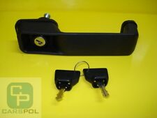 DOOR HANDLE + 2 KEYS - PARTS JCB 3CX 4CX  123/04067