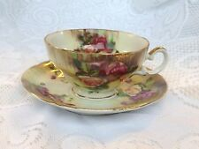 Ucago China Japan Roses Tea Cup & Saucer (57)