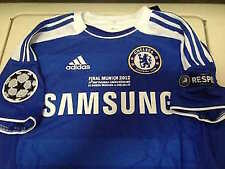 ADIDAS CHELSEA CHAMPIONS FINAL 2012 DROGBA LAMPARD YOUTH ORIGINAL SOCCER JERSEY