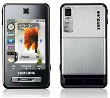 SAMSUNG F480i TOCCO MOBILE PHONE-UNLOCKED WITH NEW UK HOUSE CHARGER AND WARRANTY