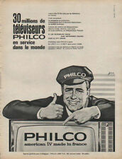 Publicité  PHILCO american tv made in france