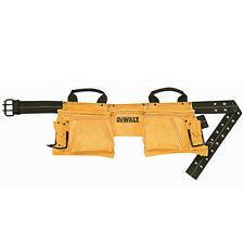 DeWALT 12 Pocket Carpenters Suede Nail and Tool Bag Tool Pouch Apron DG5372