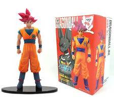 FIGURE DRAGON BALL Z SUPER SAIYAN GOD SON GOKU FIGURE COLLECTION BANPRESTO #1