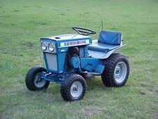 Ford Lawn Tractor Parts & Service Manuals LGT100-195 CD