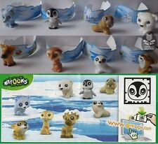 Set Baby natoons POLAR ANIMALS + 8 paper, kinder surprise Germany,  2012